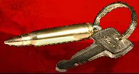 Bullet Keychains, Pistol, Revolver, Rifle, Shotgun, Military, Jewlery, Military Accessories, Only the best quality and hand made one at a time in America.